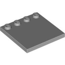 Light Bluish Gray Tile, Modified 4 x 4 with Studs on Edge