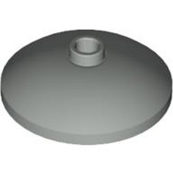 Light Gray Dish 3 x 3 Inverted (Radar)