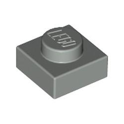 Light Gray Plate 1 x 1 - used