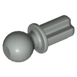 Light Gray Technic, Axle 1L with Tow Ball