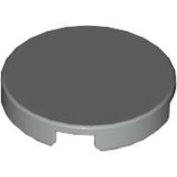 Light Gray Tile, Round 2 x 2 - used