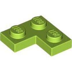 Lime Plate 2 x 2 Corner - used