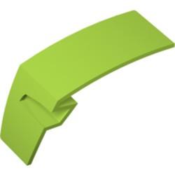 Lime Technic, Panel Car Mudguard Left - used