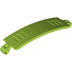 Lime Technic, Panel Curved 3 x 13 - new