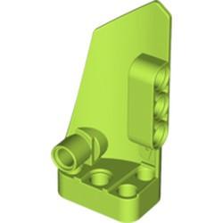 Lime Technic, Panel Fairing # 4 Small Smooth Long, Side B