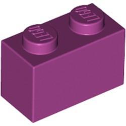 Magenta Brick 1 x 2 - used