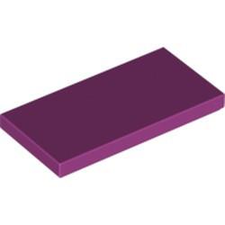 Magenta Tile 2 x 4 - used
