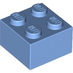 Medium Blue Brick 2 x 2