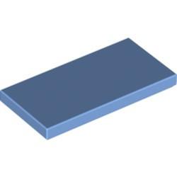 Medium Blue Tile 2 x 4 - new