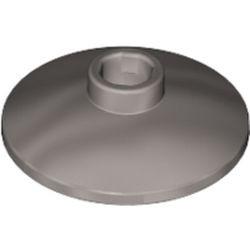 Metallic Silver Dish 2 x 2 Inverted (Radar)
