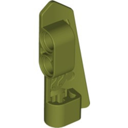 Olive Green Technic, Panel Fairing #22 Very Small Smooth, Side A