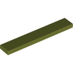 Olive Green Tile 1 x 6
