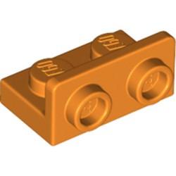 Orange Bracket 1 x 2 - 1 x 2 Inverted - new