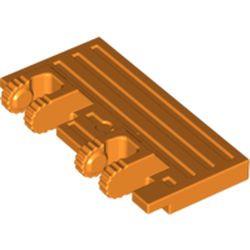 Orange Hinge Train Gate 2 x 4 Locking Dual 2 Fingers with Rear Reinforcements