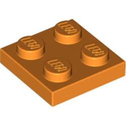 Orange Plate 2 x 2
