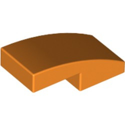 Orange Slope, Curved 2 x 1 - new