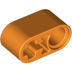 Orange Technic, Liftarm Thick 1 x 2 - Axle Hole