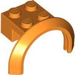 Orange Vehicle, Mudguard 4 x 2 1/2 x 1 2/3 with Arch Round