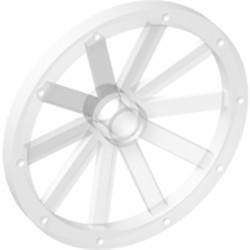 Pearl Light Gray Wheel Wagon 43mm
