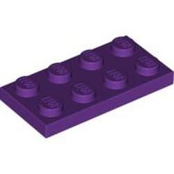 Purple Plate 2 x 4 - used