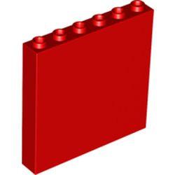Red Brick 1 x 6 x 5