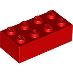 Red Brick 2 x 4 - new