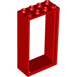 Red Door, Frame 2 x 4 x 6