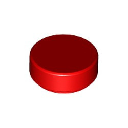 Red Tile, Round 1 x 1 - new