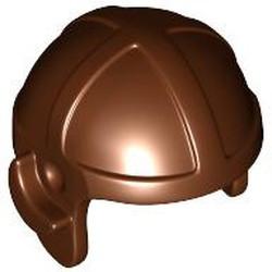 Reddish Brown Minifigure, Headgear Cap, Aviator - used