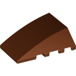 Reddish Brown Wedge 4 x 4 No Studs