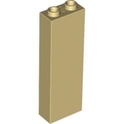 Tan Brick 1 x 2 x 5 - Blocked Open Studs or Hollow Studs