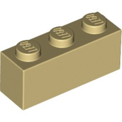 Tan Brick 1 x 3 - new