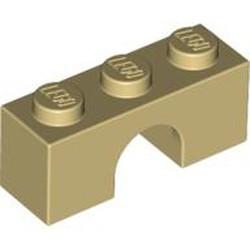 Tan Brick, Arch 1 x 3 - new