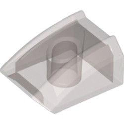 Trans-Black Slope, Curved 2 x 2 Lip - new