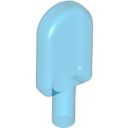 Trans-Dark Blue Ice Pop (Freezer / Lollipop / Lolly / Pole / Popsicle / Stick) - new