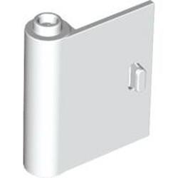 White Door 1 x 3 x 3 Left - Open Between Top and Bottom Hinge