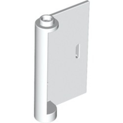 White Door 1 x 3 x 4 Right - Open Between Top and Bottom Hinge - new