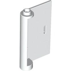 White Door 1 x 3 x 4 Right - Open Between Top and Bottom Hinge