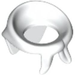 White Minifigure, Bandana / Scarf - used