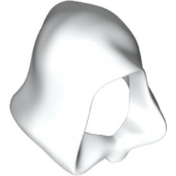 White Minifigure, Headgear Hood
