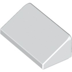 White Slope 30 1 x 2 x 2/3 - used