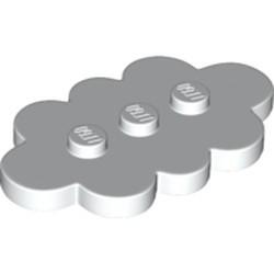 White Tile, Modified 3 x 5 Cloud