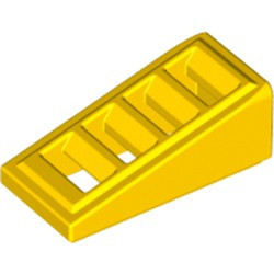Yellow Slope 18 2 x 1 x 2/3 with 4 Slots