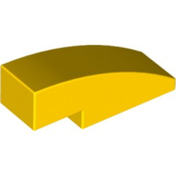 Yellow Slope, Curved 3 x 1