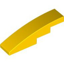 Yellow Slope, Curved 4 x 1