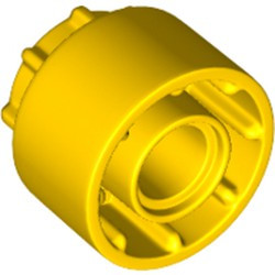 Yellow Technic, Driving Ring Extension with 8 Teeth Inside and Outside - new