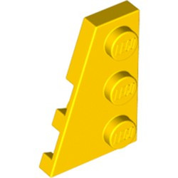 Yellow Wedge, Plate 3 x 2 Left