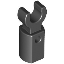 Black Bar Holder with Clip - used