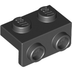Black Bracket 1 x 2 - 1 x 2 - used