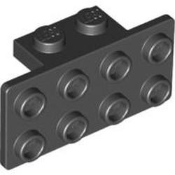 Black Bracket 1 x 2 - 2 x 4 - used